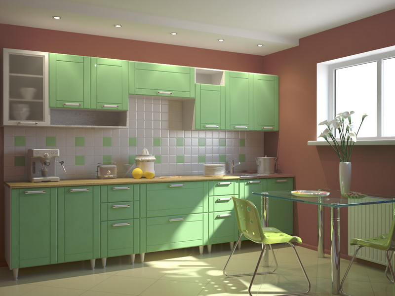 These DroolWorthy Kitchens Make a Case for Colourful Cabinets